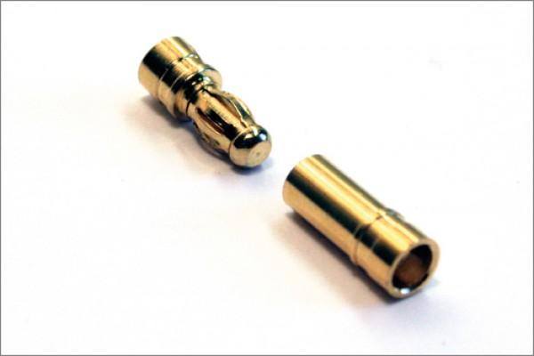 Goldkontaktstecker 3,5 mm