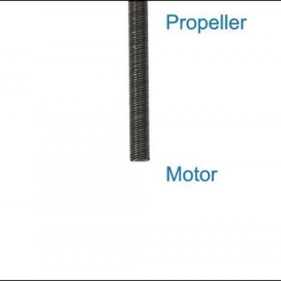 """Flexwelle 4,75mm / 3/16"""" rechtsdrehend / gegenläufig"""