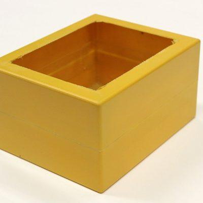 RC Boxe Rohteil für Eigenbau 80er Standard Boxe Orange