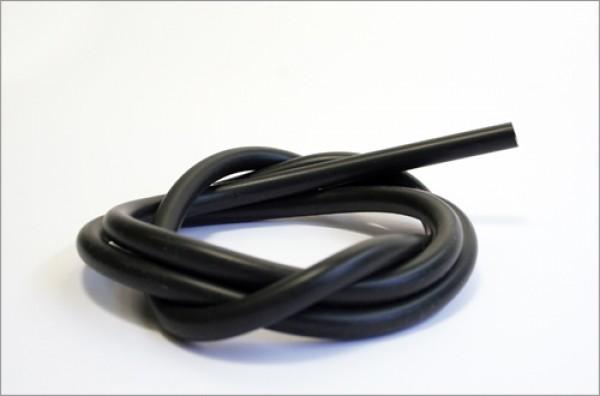 Silikonschlauch 3/7 mm schwarz