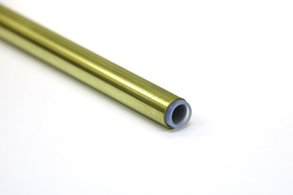 50 cm Messingrohr mit Teflon